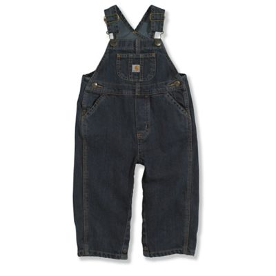 Carhartt® Size 4T Washed Denim Bib Overall