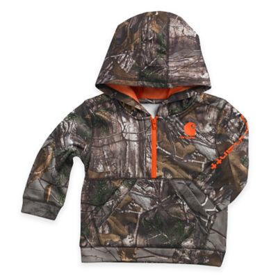 Carhartt® Size 24M Realtree Xtra® Hooded Fleece Jacket in Camo