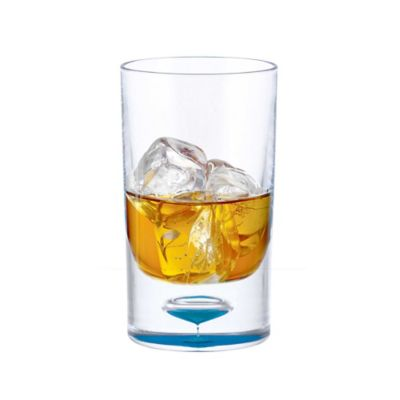Bubble Bottom Acrylic 11-Ounce Double Old Fashioned