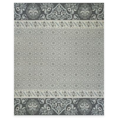 Grey/Navy Area Rugs