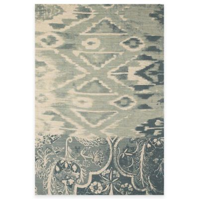 Tracy Porter® Poetic Wanderlust® Coronado 8-Foot x 11-Foot Area Rug in Teal/Navy