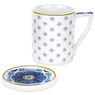 Ted Baker Portmeirion® Malton III Mug and Coaster Set