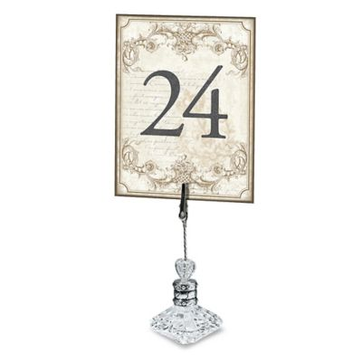 Lillian Rose™ Double-Sided Table Number Set in Gold