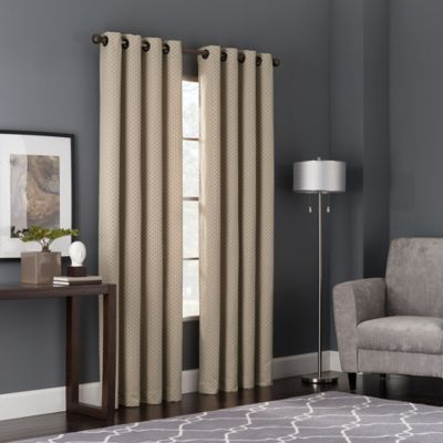 Bianca 108-Inch Window Curtain Panel in Spice