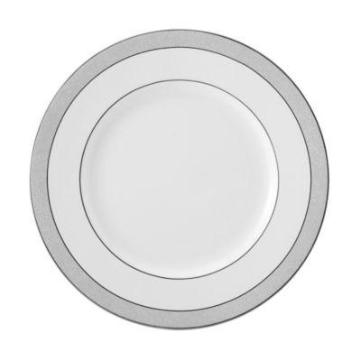 Gray White Dinner Plates