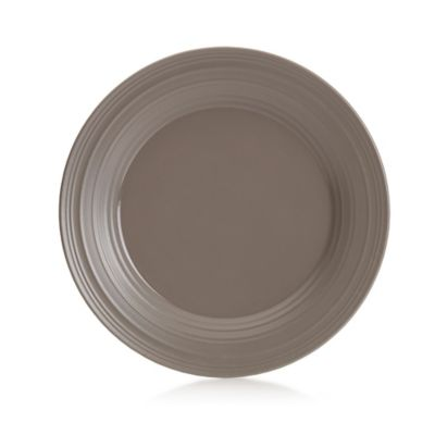 Swirl Dinner Plate in Mocha