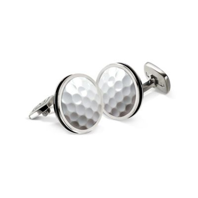 M-Clip® Stainless Steel Golf Ball Cufflinks