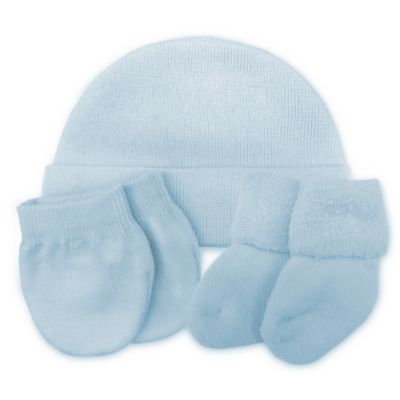 So 'dorable 3-Pack Beanie, Mittens & Booties Set