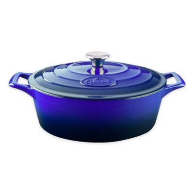 Green Cast Iron Casserole