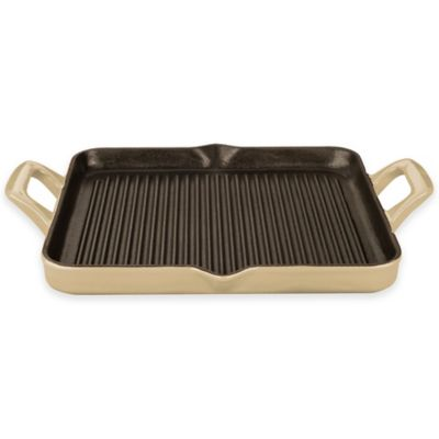 Enamel Cast Iron Grill Pan