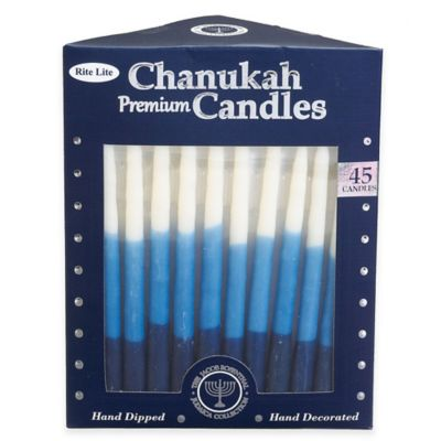 Premium Hand Dipped Chanukah Candles