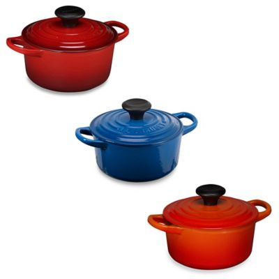 Black Le Creuset French Oven