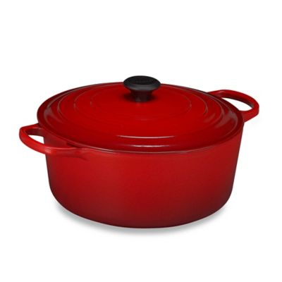 Le Creuset Signature 9 qt. Round French Oven in Black