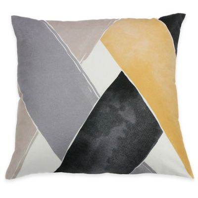 KAS ROOM South Hampton Ryle Square Throw Pillow in Multi