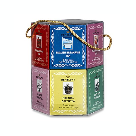 Bentley Hexagon Tea Sampler