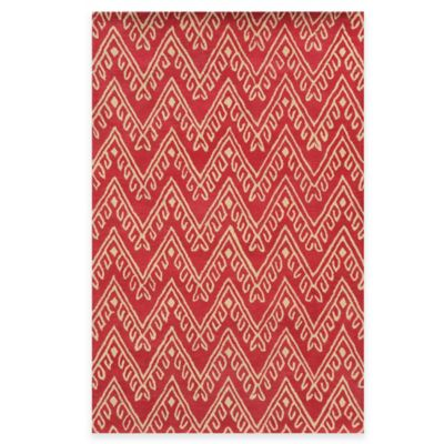 Rizzy Home Bradberry Downs Chevron 3-Foot x 5-Foot Area Rug in Dark Grey
