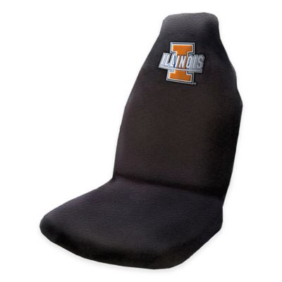 NCAA University of Illinois Car Seat Cover