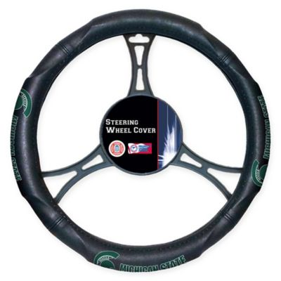 NCAA Michigan State University Steering Wheel Cover