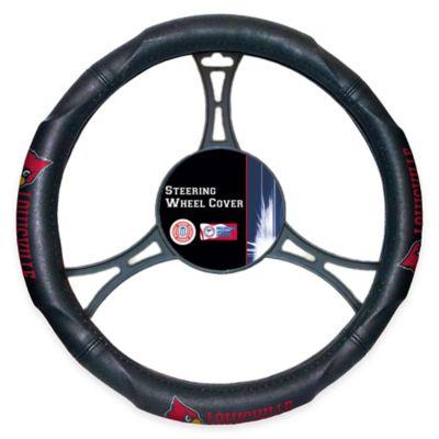NCAA University of Louisville Steering Wheel Cover