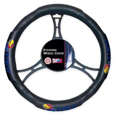 NCAA University of Kansas Steering Wheel Cover