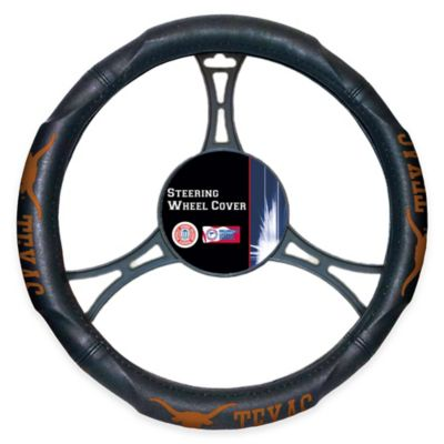 NCAA University of Texas Steering Wheel Cover