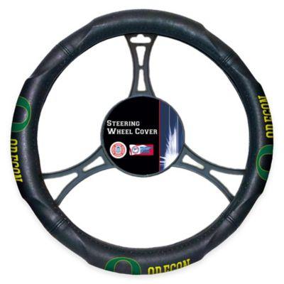 NCAA University of Oregon Steering Wheel Cover