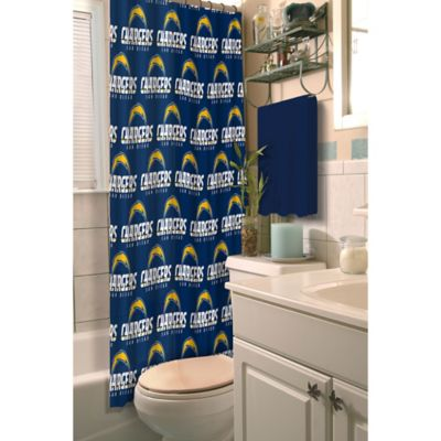 NFL San Diego Chargers Shower Curtain