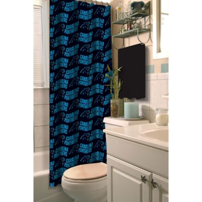 NFL Carolina Panthers Shower Curtain