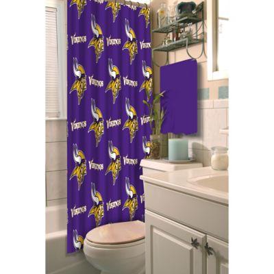 NFL Minnesota Vikings Shower Curtain