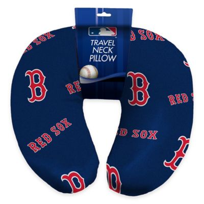 MLB Boston Red Sox Travel Neck Pillow