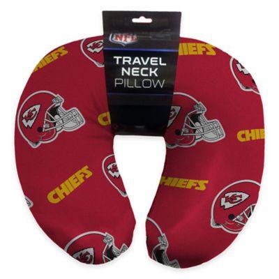 NFL Kansas City Chiefs Travel Neck Pillow