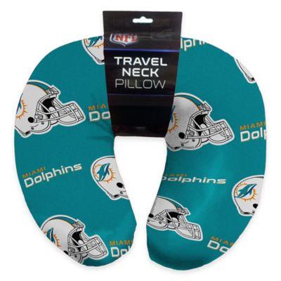 NFL Miami Dolphins Travel Neck Pillow
