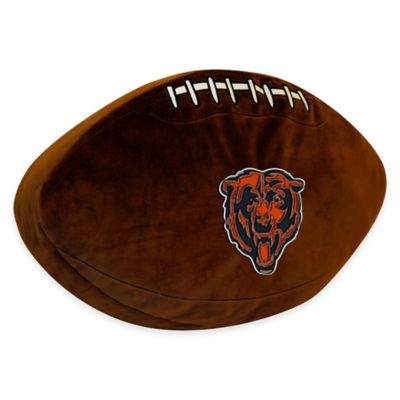 NFL Chicago Bears 3D Football Plush Pillow