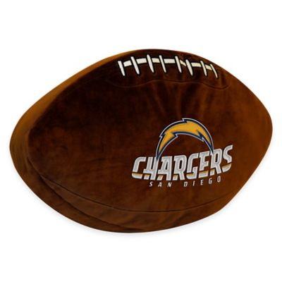 NFL San Diego Chargers 3D Football Plush Pillow