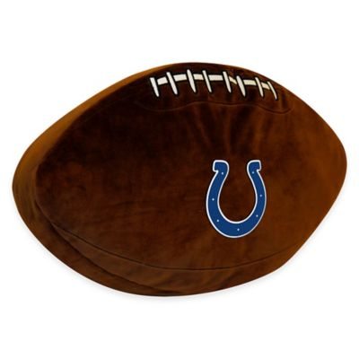 NFL Indianapolis Colts 3D Football Plush Pillow