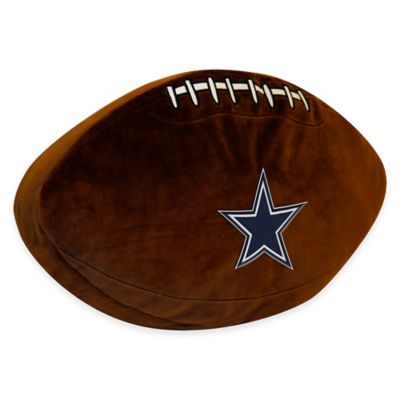 NFL Dallas Cowboys 3D Football Plush Pillow