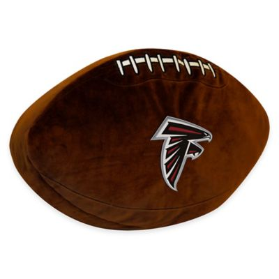 NFL Atlanta Falcons 3D Football Plush Pillow