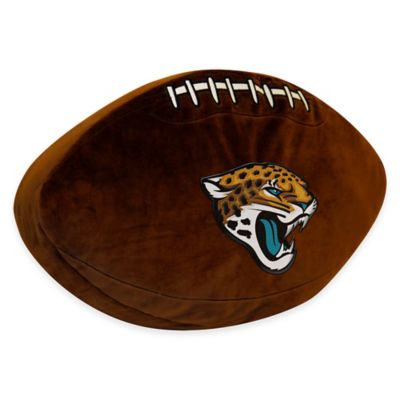 NFL Jacksonville Jaguars 3D Football Plush Pillow