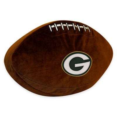 NFL Green Bay Packers 3D Football Plush Pillow