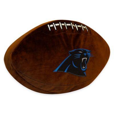 NFL Carolina Panthers 3D Football Plush Pillow