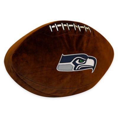 NFL Seattle Seahawks 3D Football Plush Pillow