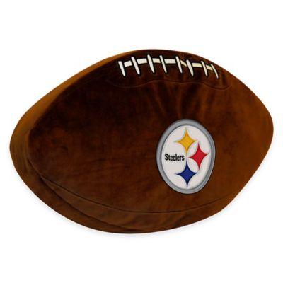 NFL Pittsburgh Steelers 3D Football Plush Pillow