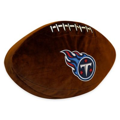 NFL Tennessee Titans 3D Football Plush Pillow