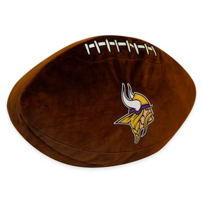 NFL Minnesota Vikings 3D Football Plush Pillow