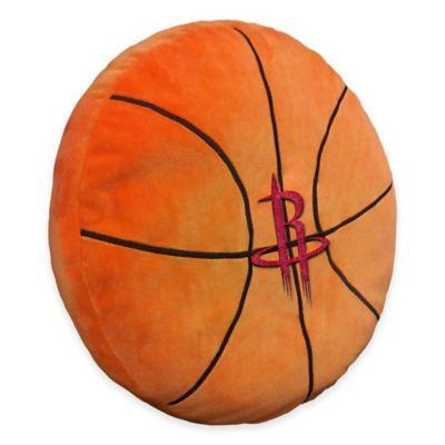 NBA Houston Rockets 3D Basketball Plush Pillow