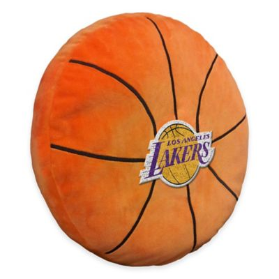 NBA Los Angeles Lakers 3D Basketball Plush Pillow