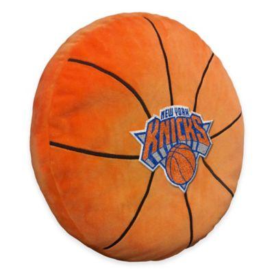 NBA New York Knicks 3D Basketball Plush Pillow