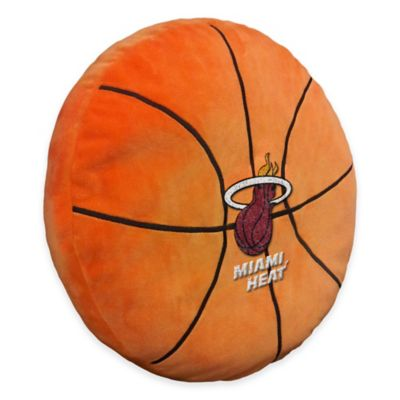 NBA Miami Heat 3D Basketball Plush Pillow