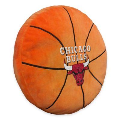 NBA Chicago Bulls 3D Basketball Plush Pillow