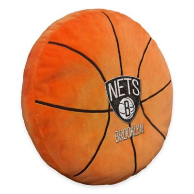 NBA Brooklyn Nets 3D Basketball Plush Pillow